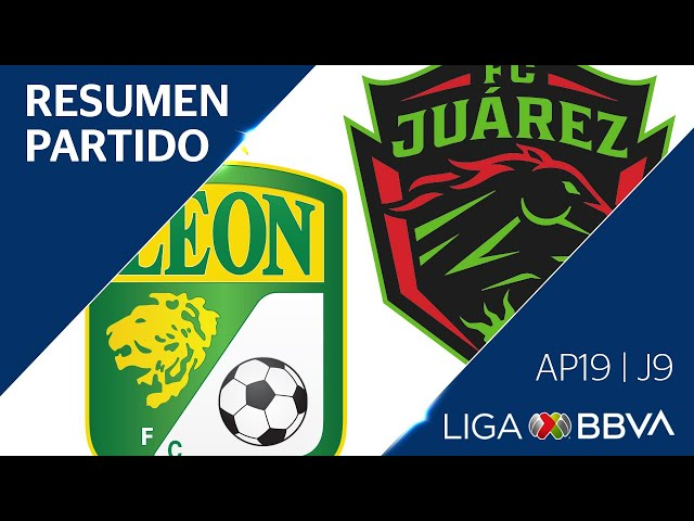 Resumen y Goles   León vs Juárez   Apertura 2019  - Jornada 9   Liga BBVA MX
