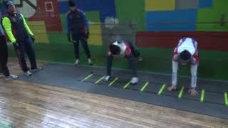 Межсезонная подготовка спортсменов сборной России по велосипедному спорту (BMX)