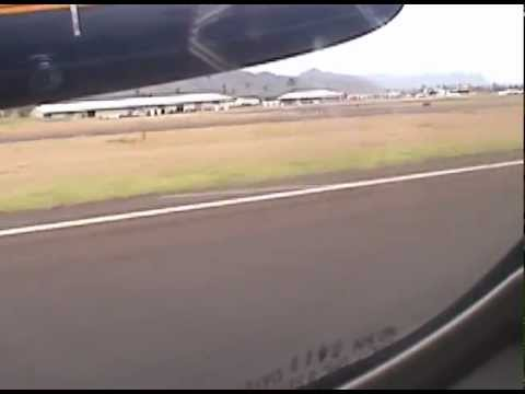Departure Lihue, Kauai(LIH) Island Air Dash 8 to Kahului, Maui(OGG)