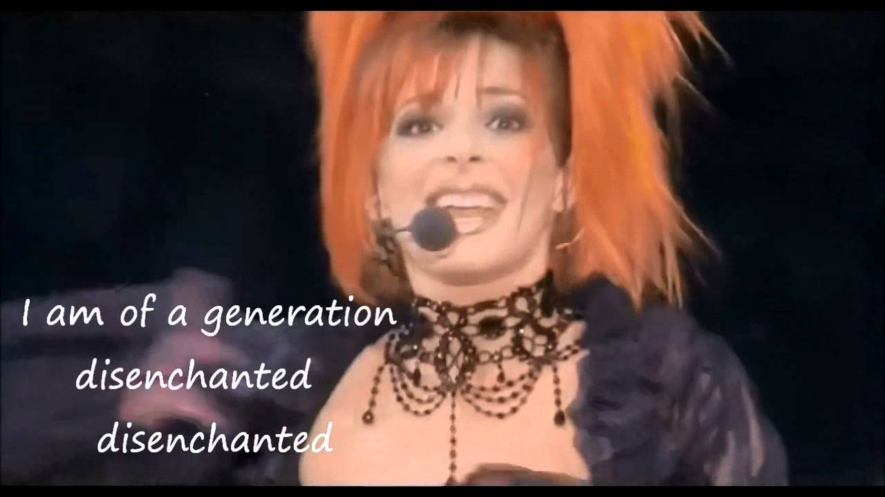 DISENCHANTED Mylene Farmer English Words for Desenchantee 20 20 ...