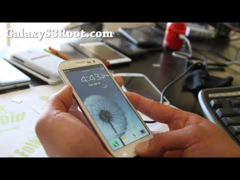 How To Root T-Mobile Galaxy S3 SGH-T999!
