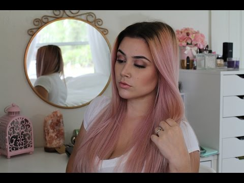 How to: Rose Gold/Smoky Pink Hair