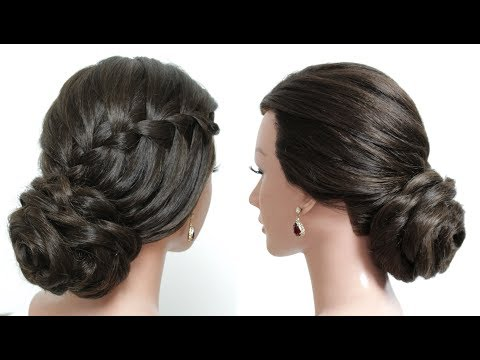 Awesome & Easy Hairstyles for Wedding or Function. Bridal Updo.