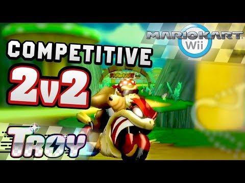I Played Competitive Mario Kart Wii Again.. (2v2 w/ Matt?!)