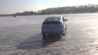 Prius ice drift