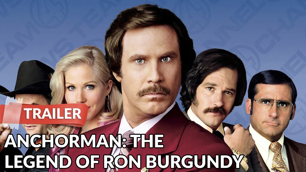 Download Anchorman: The Legend of Ron Burgundy 2004 Trailer HD | Will Ferrell