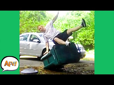 Going OUT With the TRASH! 😆 | Funny Fails | AFV 2020