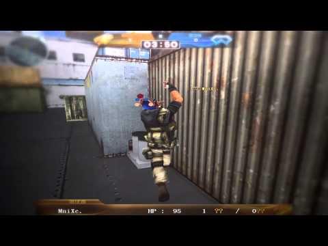 TrickJump CF | Catch And Run Battle ( MniXc vs WeiRd ) | By GlitchCFCommunity