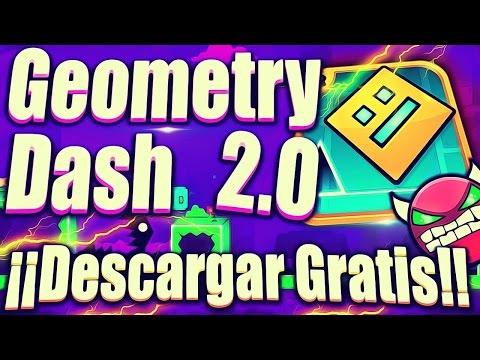 Descargar GRATIS Geometry Dash 2.0 PARA ANDRIOID! (Un Link MediaFire)
