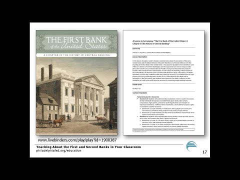 Teaching About the First and Second Banks in Your Classroom