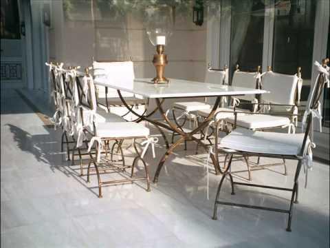 Mobiliario De Terraza Barcelona Muebles De Exterior Youtube