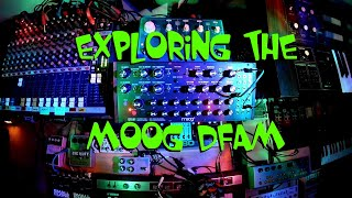 Exploring the weird side of the Moog DFAM