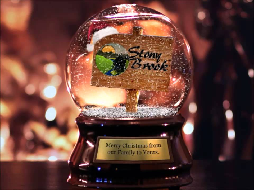 Merry Christmas From Stony Brook Cabin Rentals In Gatlinburg Tn
