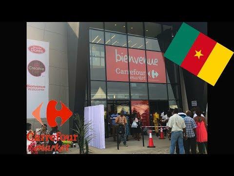 [VLOG 1] PREMIER CARREFOUR MARKET AU CAMEROUN !! 🇨🇲 | VISITE| TIPHANIEMAKEUP