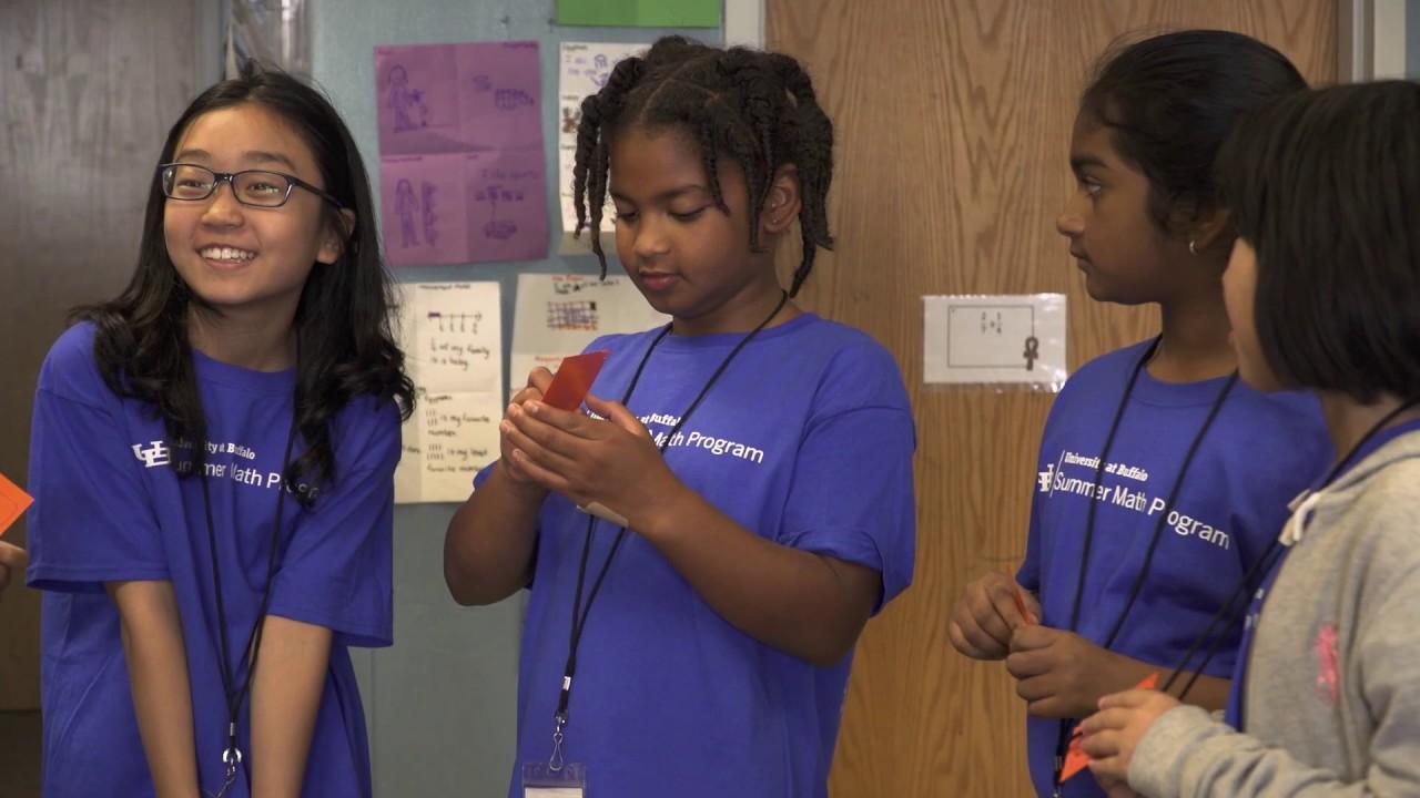 UB's 'amazing' Summer Math Program