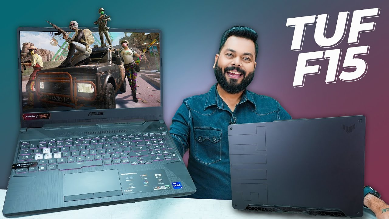 Asus TUF F15 Gaming Laptop Unboxing & Quick Review (2021 Model )⚡Intel i9, RTX 3060, 144Hz Scree