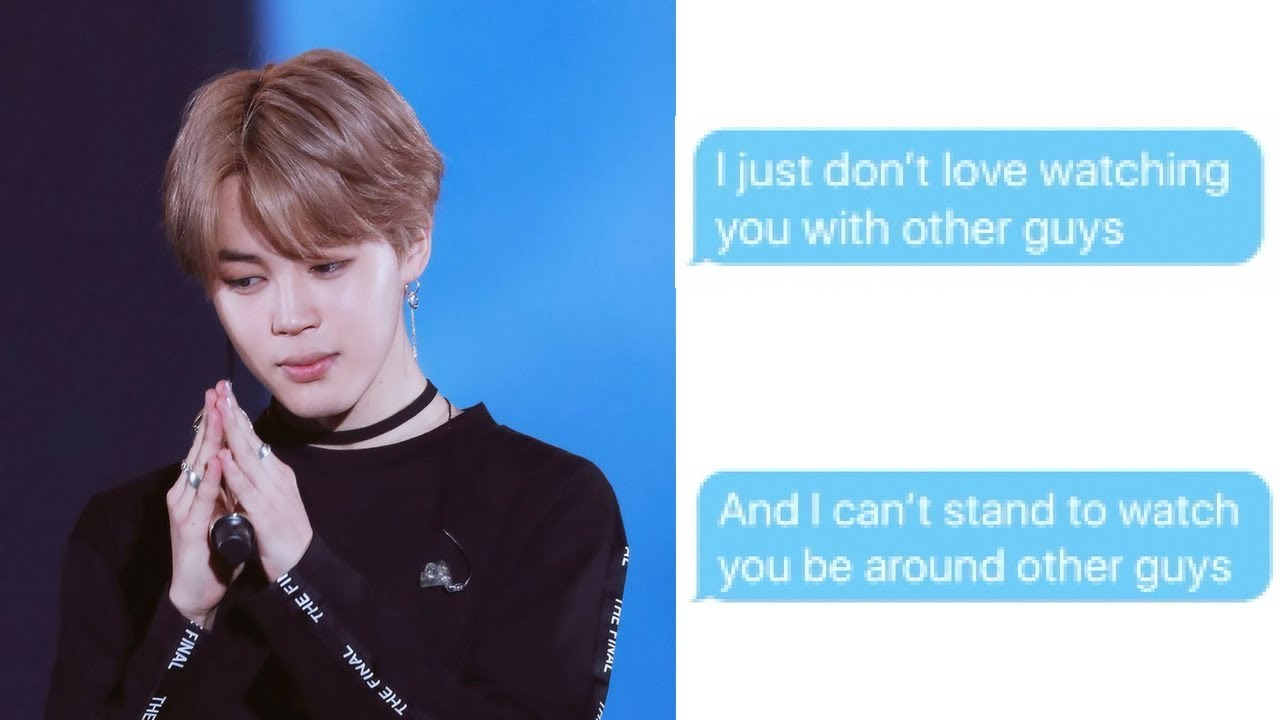 [BTS IMAGINE] Jimin Gets Jealous of You and Another Guy