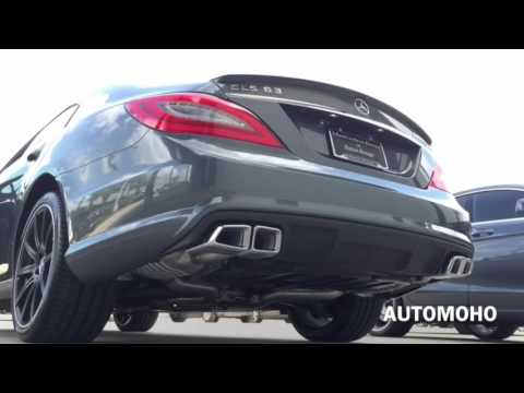 SOUND: 2016 Mercedes Benz CLS 63 AMG S Model Exhaust /Start Up /Short Drive