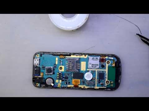 Samsung C3530 не заряжается