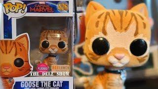CAPTAIN MARVEL MOVIE GOOSE THE CAT FUNKO POP BOXLUNCH FLOCKED EXCLUSIVE #CaptainMarvel #Goosethecat