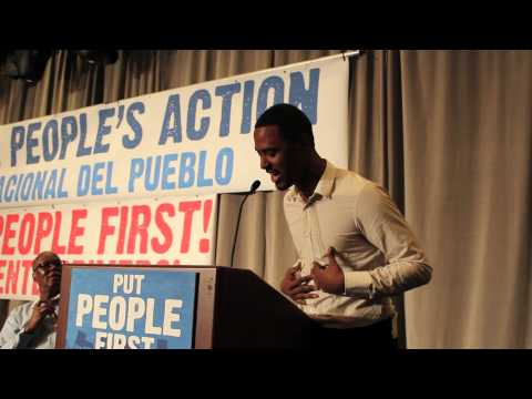 Yorman Nunez Spoken Word - National People's Action Conference