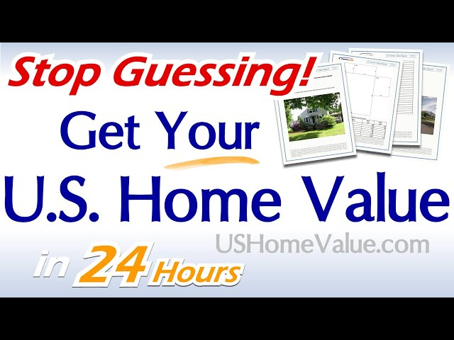 US Home Value Report - Property Appraisal Emulation