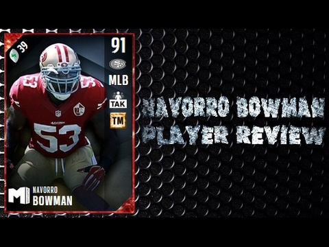 Madden NFL 17 Ultimate Team 91 Overall NaVorro Bowman Player Review