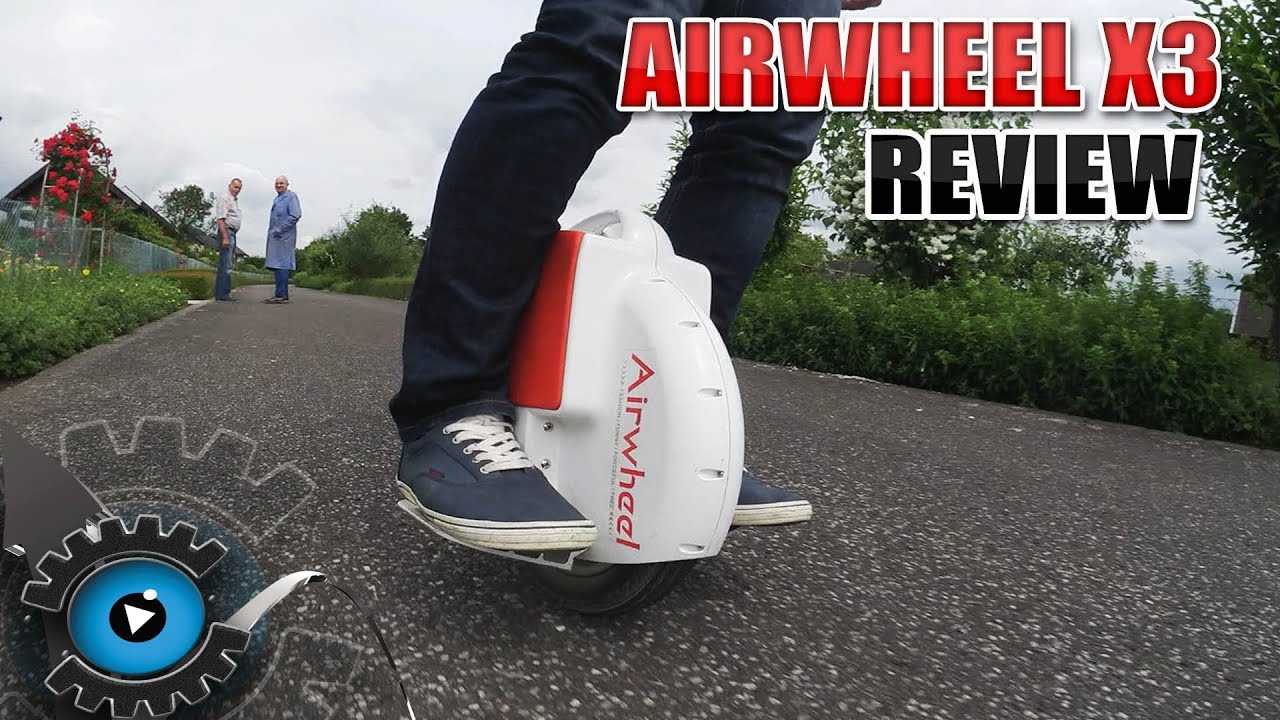 airwheel x3 elektro einrad review test deutsch german. Black Bedroom Furniture Sets. Home Design Ideas