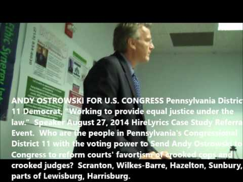 Andy Ostrowski For Congress Is Tired of Crooked Cops and Courts Works for Justice Under The Law
