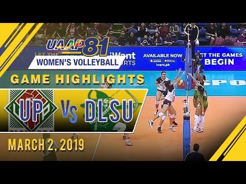 UAAP 81 WV: UP vs. DLSU | Game Highlights | March 2, 2019