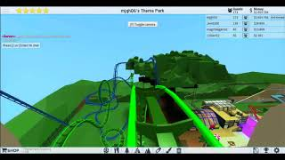 Floorless Coaster at Mjgh06's TPT2 on Roblox