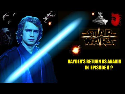 lets talk hayden christensen returning in star wars episode 8 youtube. Black Bedroom Furniture Sets. Home Design Ideas