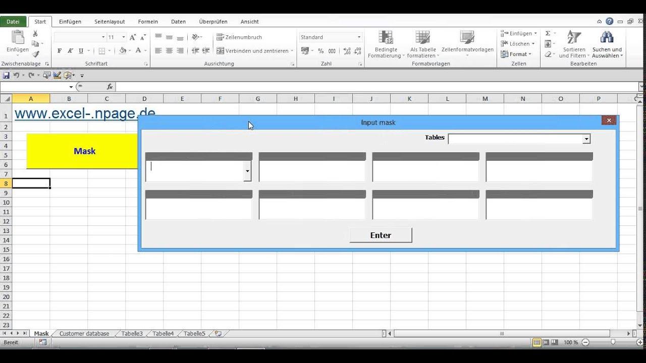 display excel sheet in vba userform excel tips from john walkenbachmodule 7 enter data. Black Bedroom Furniture Sets. Home Design Ideas