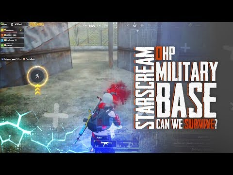 0HP FIGHT IN MILITARY BASE INSANE PLAYER | PUBG MOBILE STAR HIGHLIGHT