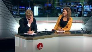 BLOOPER: Sportankaret gör bort sig... igen! - Nyhetsmorgon (TV4)