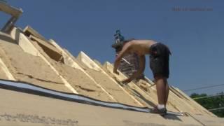 Holzfaser Dachsanierung mit Zwischensparrendämmung
