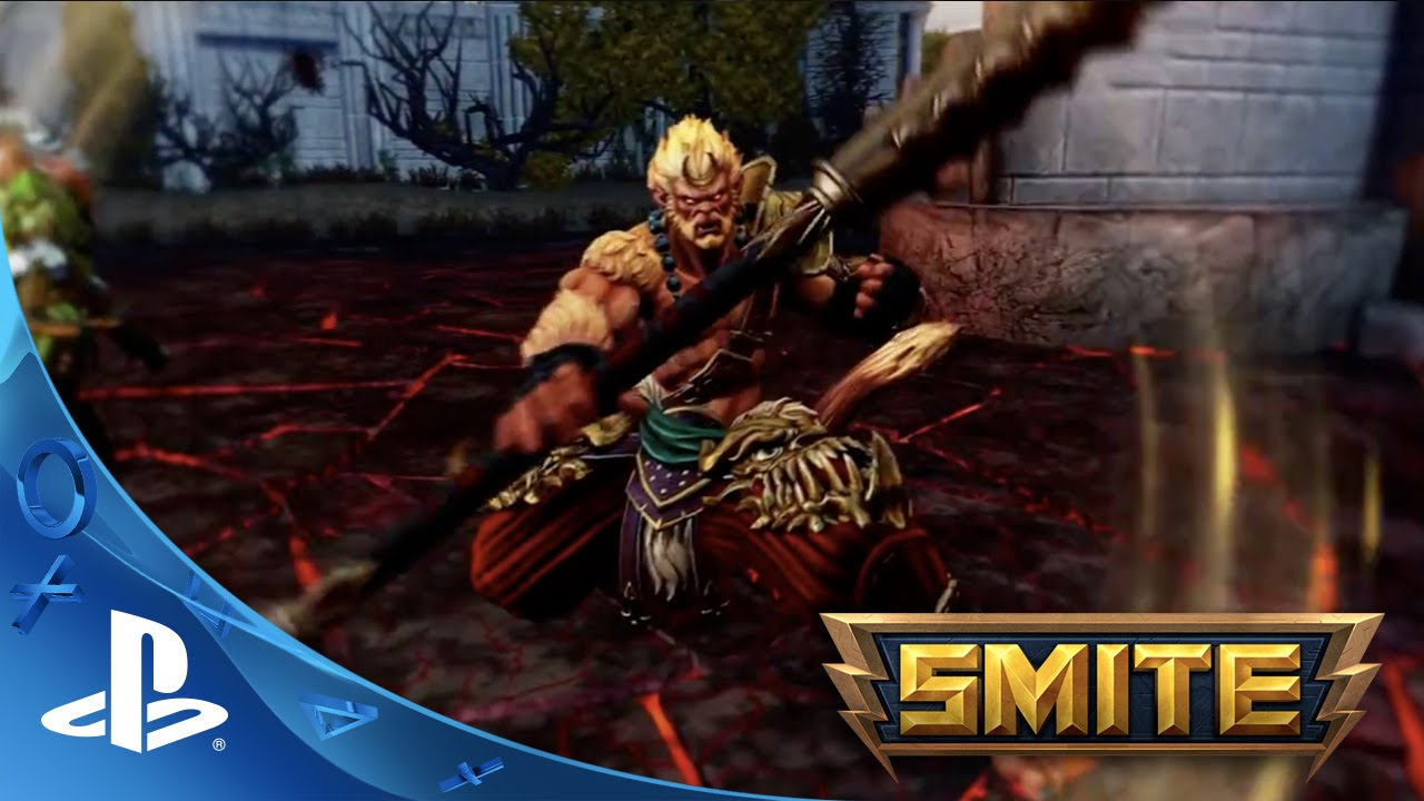 Smite Battleground Of The Gods Gameplay Trailer Ps4