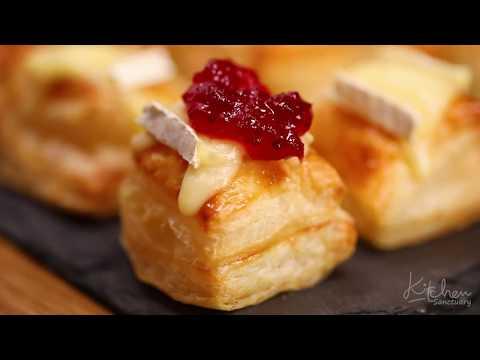 Cranberry And Brie Bites Recipe Video