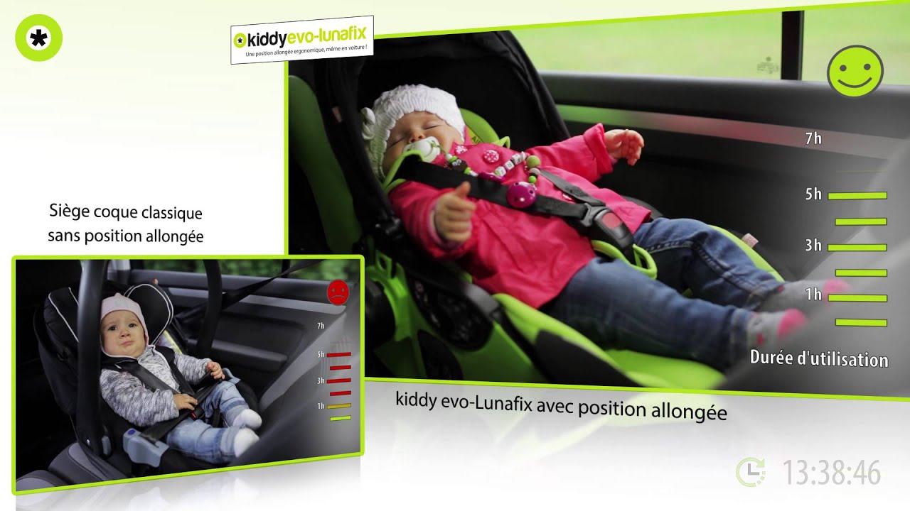 Si ge auto groupe 0 evo lunafix de kiddy youtube for Siege auto de 0 a 3 ans