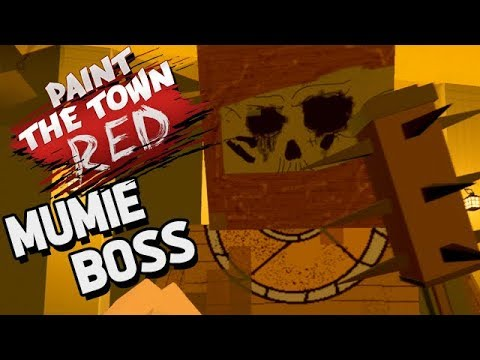 Paint The Town Red Gameplay German - Neuer Boss Fight