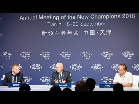 """""""Shaping the Fourth Industrial Revolution"""" Klaus Schwab in China ?!"""