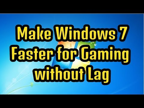 How To Make Windows 7 Faster For Gaming Without Lag | Make Your PC Faster | Easy Steps