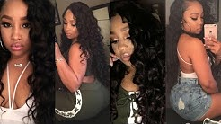 New Weave💁🏽 Luxe Locs Exotic Wave