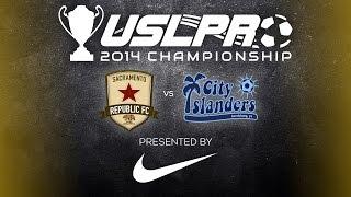 2014 USL PRO Championship - Sacramento Republic FC vs Harrisburg City Islanders