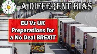Comparing No Deal Brexit Preparations - UK vs EU