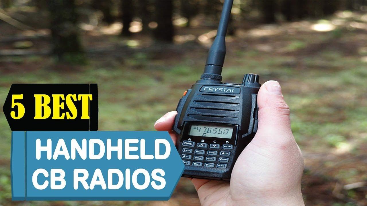 5 Best Handheld Cb Radios 2021 Best Handheld Cb Radios Reviews Top 5 Handheld Cb Radios Youtube