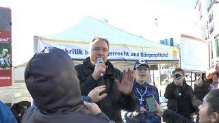Beleidigungen und Attacken gegen Michael Stürzenberger