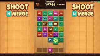 Shoot n Merge - Number block puzzle. Shoot n Merge reinvention of the classic puzzle.