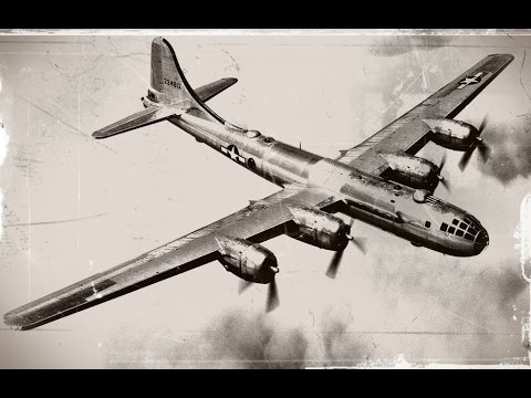 Legendarne Samoloty B-29 Superfortress