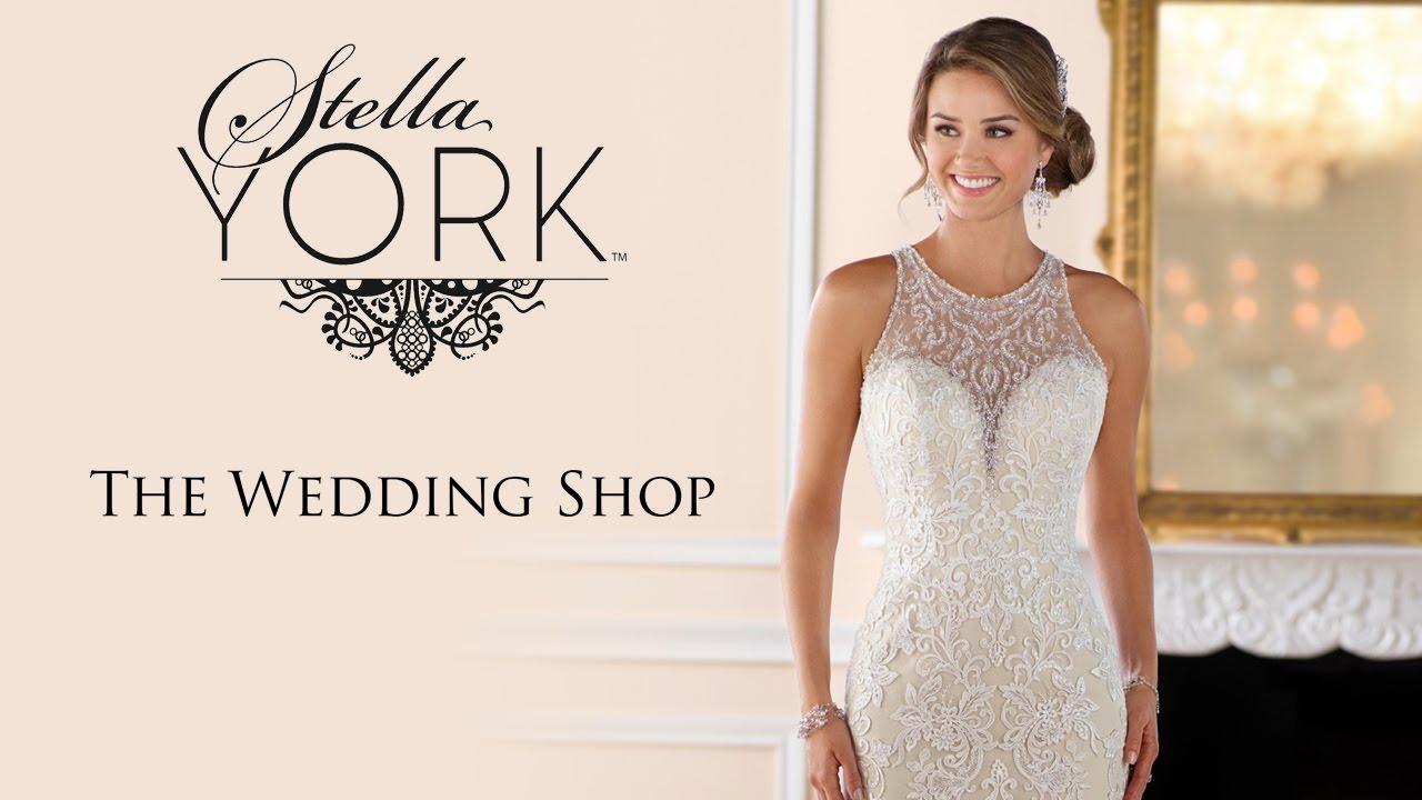 Stella York Wedding Dresses at The Wedding Shop - YouTube
